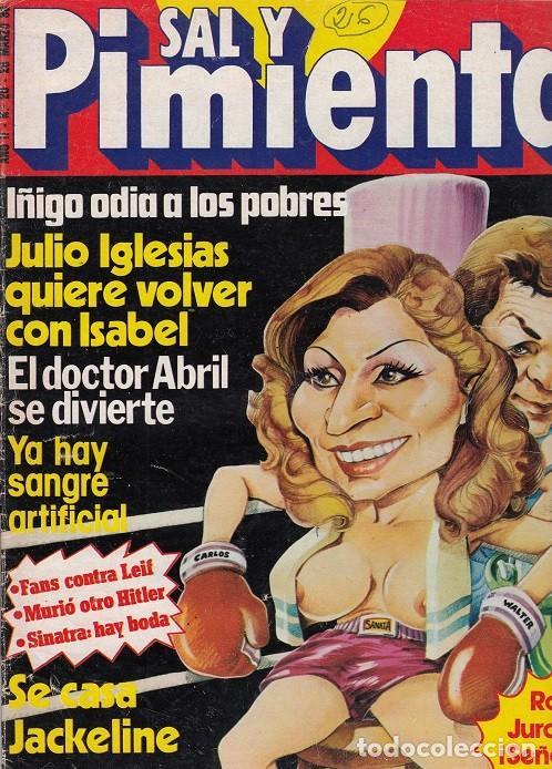 SAL Y PIMIENTA, SUPLEMENTO SATÍRICO DE INTERVIÚ Nº 26 # (Coleccionismo - Revistas y Periódicos Modernos (a partir de 1.940) - Revista Interviú)