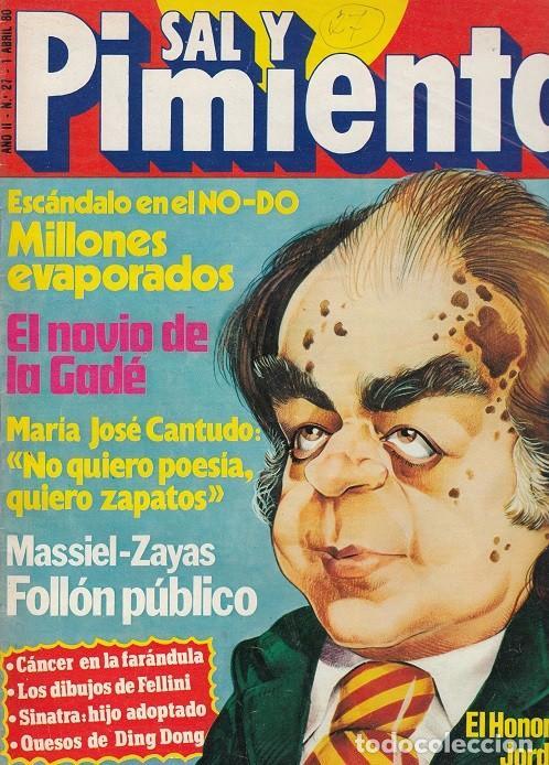 SAL Y PIMIENTA, SUPLEMENTO SATÍRICO DE INTERVIÚ Nº 27 # (Coleccionismo - Revistas y Periódicos Modernos (a partir de 1.940) - Revista Interviú)