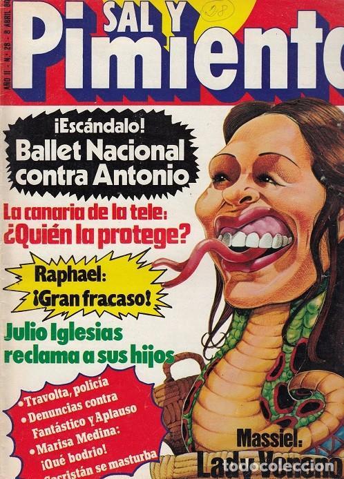 SAL Y PIMIENTA, SUPLEMENTO SATÍRICO DE INTERVIÚ Nº 28 # (Coleccionismo - Revistas y Periódicos Modernos (a partir de 1.940) - Revista Interviú)