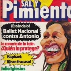 Coleccionismo de Revista Interviú: SAL Y PIMIENTA, SUPLEMENTO SATÍRICO DE INTERVIÚ Nº 28 #. Lote 268841054