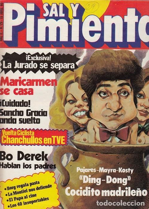 SAL Y PIMIENTA, SUPLEMENTO SATÍRICO DE INTERVIÚ Nº 29 # (Coleccionismo - Revistas y Periódicos Modernos (a partir de 1.940) - Revista Interviú)