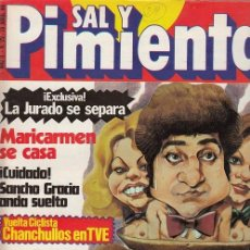Coleccionismo de Revista Interviú: SAL Y PIMIENTA, SUPLEMENTO SATÍRICO DE INTERVIÚ Nº 29 #. Lote 268841099