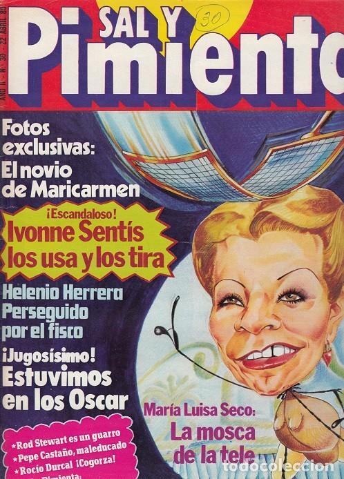 SAL Y PIMIENTA, SUPLEMENTO SATÍRICO DE INTERVIÚ Nº 30 # (Coleccionismo - Revistas y Periódicos Modernos (a partir de 1.940) - Revista Interviú)
