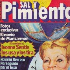 Coleccionismo de Revista Interviú: SAL Y PIMIENTA, SUPLEMENTO SATÍRICO DE INTERVIÚ Nº 30 #. Lote 268841159