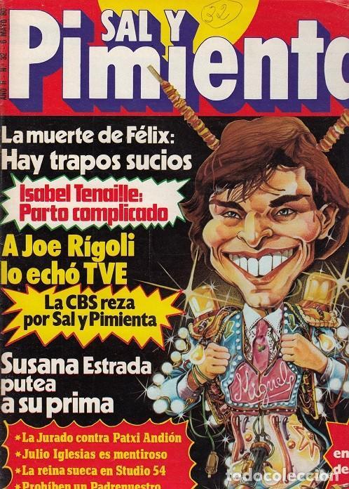 SAL Y PIMIENTA, SUPLEMENTO SATÍRICO DE INTERVIÚ Nº 32 # (Coleccionismo - Revistas y Periódicos Modernos (a partir de 1.940) - Revista Interviú)