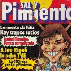 Coleccionismo de Revista Interviú: SAL Y PIMIENTA, SUPLEMENTO SATÍRICO DE INTERVIÚ Nº 32 #. Lote 268841249