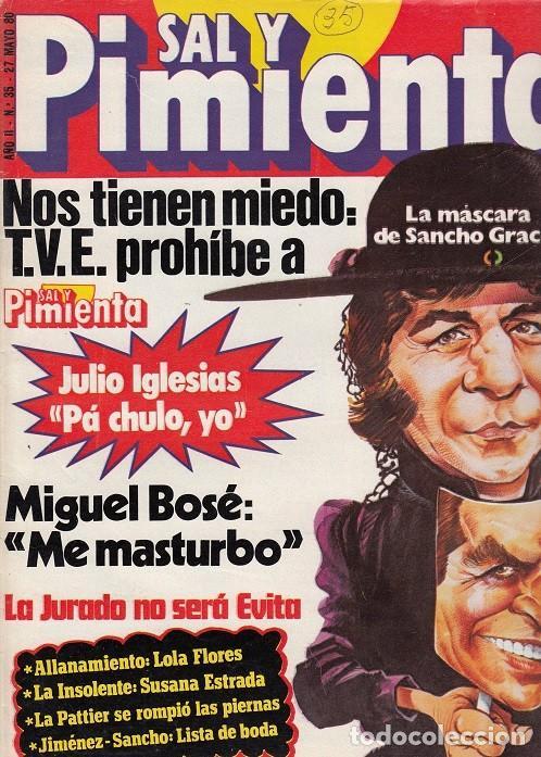 SAL Y PIMIENTA, SUPLEMENTO SATÍRICO DE INTERVIÚ Nº 35 # (Coleccionismo - Revistas y Periódicos Modernos (a partir de 1.940) - Revista Interviú)