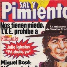 Coleccionismo de Revista Interviú: SAL Y PIMIENTA, SUPLEMENTO SATÍRICO DE INTERVIÚ Nº 35 #. Lote 268841394