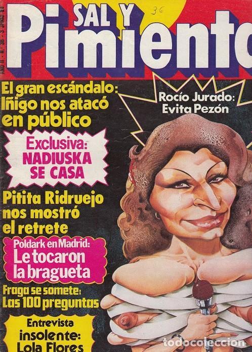 SAL Y PIMIENTA, SUPLEMENTO SATÍRICO DE INTERVIÚ Nº 36 # (Coleccionismo - Revistas y Periódicos Modernos (a partir de 1.940) - Revista Interviú)