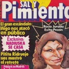 Coleccionismo de Revista Interviú: SAL Y PIMIENTA, SUPLEMENTO SATÍRICO DE INTERVIÚ Nº 36 #. Lote 268841454