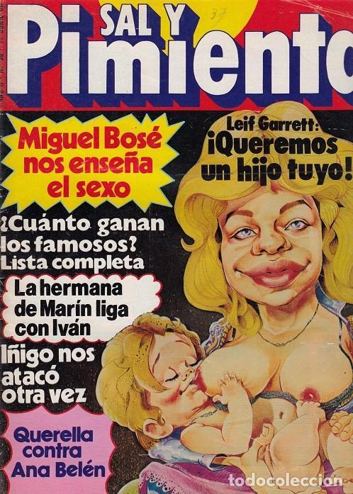SAL Y PIMIENTA, SUPLEMENTO SATÍRICO DE INTERVIÚ Nº 38 # (Coleccionismo - Revistas y Periódicos Modernos (a partir de 1.940) - Revista Interviú)