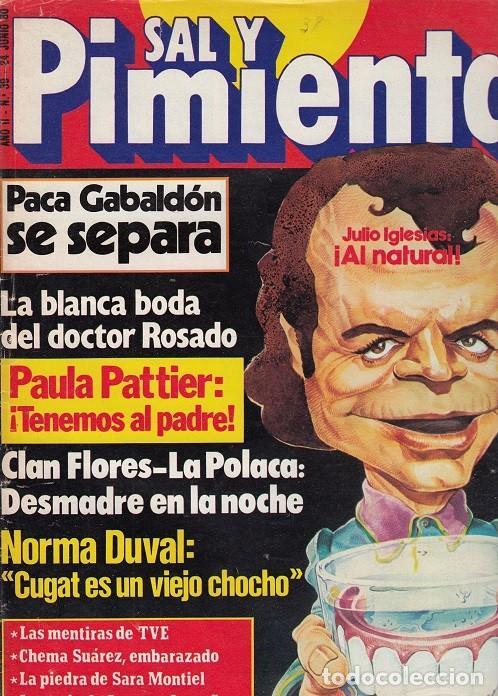 SAL Y PIMIENTA, SUPLEMENTO SATÍRICO DE INTERVIÚ Nº 39 # (Coleccionismo - Revistas y Periódicos Modernos (a partir de 1.940) - Revista Interviú)