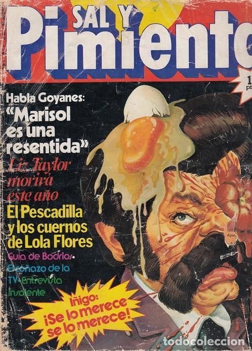 SAL Y PIMIENTA, SUPLEMENTO SATÍRICO DE INTERVIÚ Nº 1 # (Coleccionismo - Revistas y Periódicos Modernos (a partir de 1.940) - Revista Interviú)