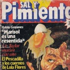 Coleccionismo de Revista Interviú: SAL Y PIMIENTA, SUPLEMENTO SATÍRICO DE INTERVIÚ Nº 1 #. Lote 268841779