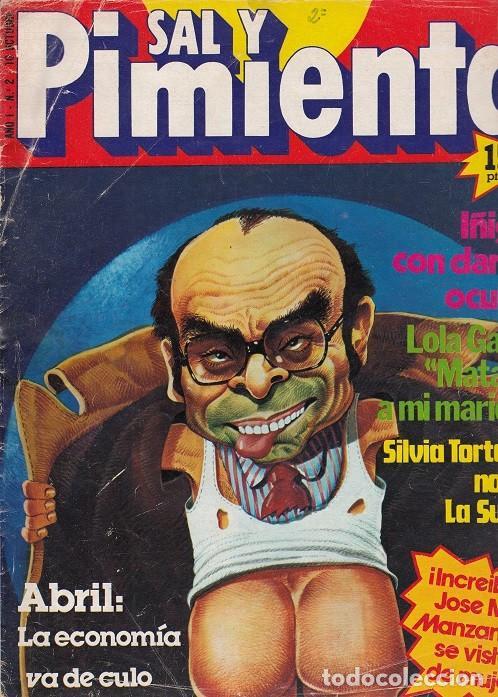 SAL Y PIMIENTA, SUPLEMENTO SATÍRICO DE INTERVIÚ Nº 2 # (Coleccionismo - Revistas y Periódicos Modernos (a partir de 1.940) - Revista Interviú)