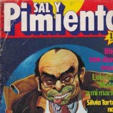 Coleccionismo de Revista Interviú: SAL Y PIMIENTA, SUPLEMENTO SATÍRICO DE INTERVIÚ Nº 2 #. Lote 268841814