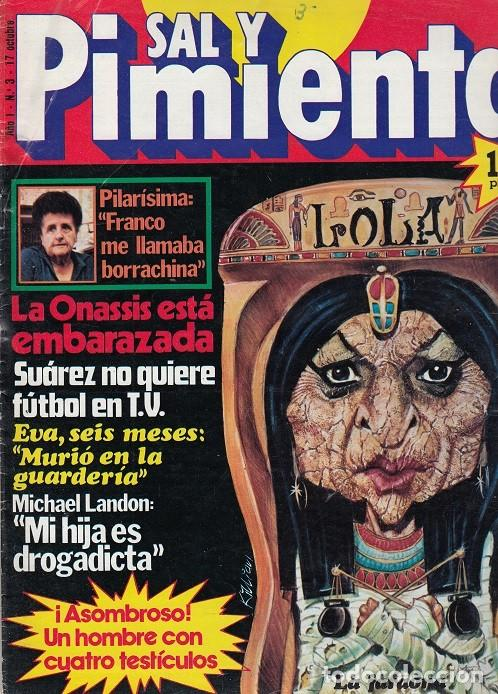 SAL Y PIMIENTA, SUPLEMENTO SATÍRICO DE INTERVIÚ Nº 3 # (Coleccionismo - Revistas y Periódicos Modernos (a partir de 1.940) - Revista Interviú)