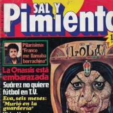 Coleccionismo de Revista Interviú: SAL Y PIMIENTA, SUPLEMENTO SATÍRICO DE INTERVIÚ Nº 3 #. Lote 268841874