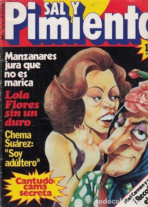 SAL Y PIMIENTA, SUPLEMENTO SATÍRICO DE INTERVIÚ Nº 4 # (Coleccionismo - Revistas y Periódicos Modernos (a partir de 1.940) - Revista Interviú)