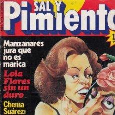 Coleccionismo de Revista Interviú: SAL Y PIMIENTA, SUPLEMENTO SATÍRICO DE INTERVIÚ Nº 4 #. Lote 268841929
