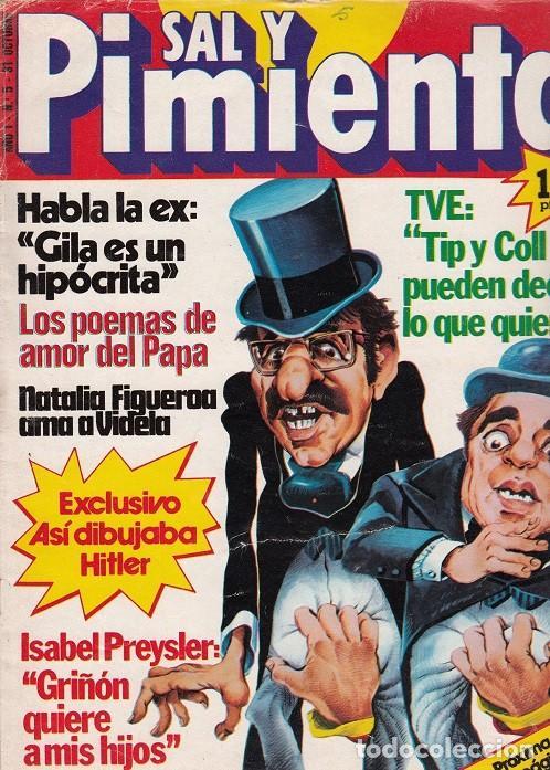 SAL Y PIMIENTA, SUPLEMENTO SATÍRICO DE INTERVIÚ Nº 5 # (Coleccionismo - Revistas y Periódicos Modernos (a partir de 1.940) - Revista Interviú)