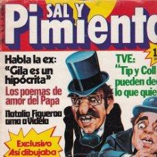 Coleccionismo de Revista Interviú: SAL Y PIMIENTA, SUPLEMENTO SATÍRICO DE INTERVIÚ Nº 5 #. Lote 268841989