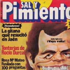 Coleccionismo de Revista Interviú: SAL Y PIMIENTA, SUPLEMENTO SATÍRICO DE INTERVIÚ Nº 6 #. Lote 268842049