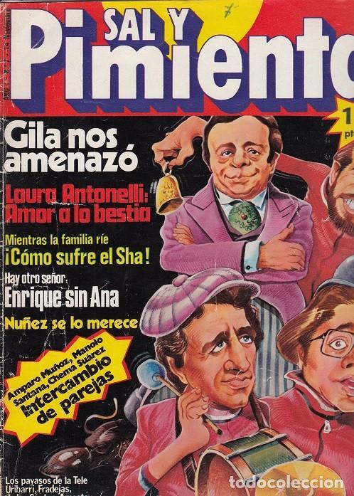 SAL Y PIMIENTA, SUPLEMENTO SATÍRICO DE INTERVIÚ Nº 7 # (Coleccionismo - Revistas y Periódicos Modernos (a partir de 1.940) - Revista Interviú)