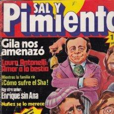 Coleccionismo de Revista Interviú: SAL Y PIMIENTA, SUPLEMENTO SATÍRICO DE INTERVIÚ Nº 7 #. Lote 268842109