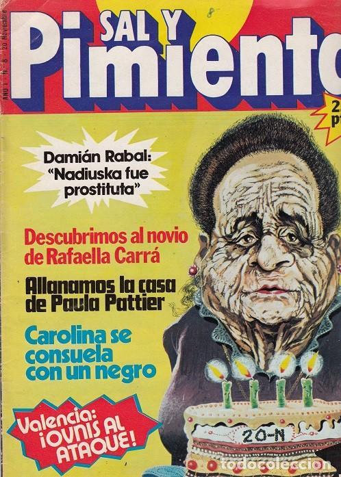 SAL Y PIMIENTA, SUPLEMENTO SATÍRICO DE INTERVIÚ Nº 8 # (Coleccionismo - Revistas y Periódicos Modernos (a partir de 1.940) - Revista Interviú)