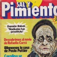 Coleccionismo de Revista Interviú: SAL Y PIMIENTA, SUPLEMENTO SATÍRICO DE INTERVIÚ Nº 8 #. Lote 268842144