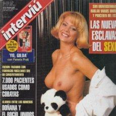 Coleccionismo de Revista Interviú: INTERVIU Nº 1151 ,OLGA MONROY, ESPERANZA LOPEZ DE CASTRO,. Lote 268937534
