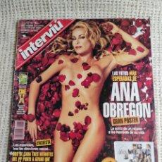 Coleccionismo de Revista Interviú: INTERVIU Nº 1308. ESPECIAL ANA OBREGON. INCLUYE GRAN POSTER DESPLEGABLE.. Lote 79131401
