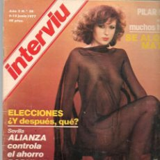Colecionismo da Revista Interviú: INTERVIU. Nº 56. DIANA POLAKOV. 9 JUNIO 1977 (P/B72). Lote 269107418