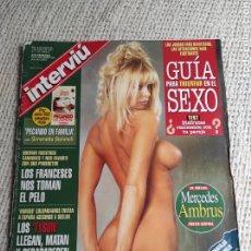 Coleccionismo de Revista Interviú: INTERVIU Nº 1100, / MERCEDES AMBRUS, SANDRA BULLOCK, CASO ALCÁCER, DIOSAS DEL EROTISMO POSTER. Lote 45451841