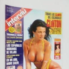 Coleccionismo de Revista Interviú: INTERVIU FEBRERO 1998. Lote 270698408