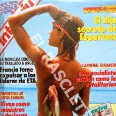 Coleccionismo de Revista Interviú: ANTIGÜA REVISTA INTERVIU - Nº 581. Lote 272727248