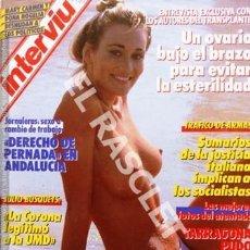 Coleccionismo de Revista Interviú: ANTIGÜA REVISTA INTERVIU - Nº 579. Lote 272727408