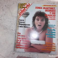 Coleccionismo de Revista Interviú: PENTHOUSE Nº 540, SONIA MARTINEZ DESNUDA, MADAME MAYFLOWER, FERNANDO MARTIN,. Lote 275658363