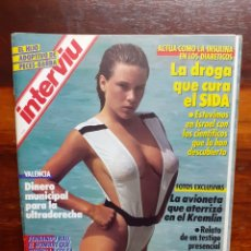 Coleccionismo de Revista Interviú: REVISTA INTERVIU. N°578. JUNIO 1987. SAMANTHA FOX. BUEN ESTADO.. Lote 275944368