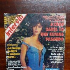 Coleccionismo de Revista Interviú: REVISTA INTERVIU. N°838. MAYO 1992. ARANCHA DEL SOL. BUEN ESTADO.. Lote 275945058