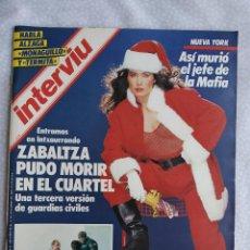 Coleccionismo de Revista Interviú: REVISTA INTERVIU 502 RUIZ MATEOS COMETA HALLEY GURRUCHAGA DONATELLA DAMIANI SHANNON TWEED BIG PAUL +. Lote 276174293