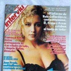 Coleccionismo de Revista Interviú: REVISTA INTERVIU 734 DESCUIDO MARTA SANCHEZ ANGELA MOLINA LAS EDADES DE LULU BIGAS LUNA + VER FOTOS. Lote 276175923