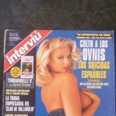 Colecionismo da Revista Interviú: INTERVIU 1093-ANNA NICOLE SMITH-OVNIS-SECTAS-VALERIO LAZAROV-DARYL HANNAH-PAULA VÁZAQUEZ. Lote 276906938