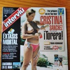 Coleccionismo de Revista Interviú: INTERVIU Nº 1268 DE 2000- CRISTINA SANCHEZ- BEATRIZ RICO- BENICASSIM LOS PLANETAS- KARRA ELEJALDE- A. Lote 277745463