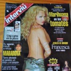 Coleccionismo de Revista Interviú: INTERVIU Nº 1238 D 2000- MARADONA- MARC GENE- MELON DIESEL- CARLOS LOZANO- JESULIN- ANTONIO BANDERAS. Lote 277746198