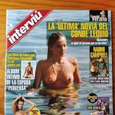 Coleccionismo de Revista Interviú: INTERVIU Nº 1212 DE 1999- NAOMI CAMPBELL- ELOY AZORIN- AGATA LYS- KOSOVO- ETA- DROGAS- BENALMADENA... Lote 277748363