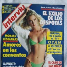 Coleccionismo de Revista Interviú: REVISTA INTERVIU 512 FOTOS GUERRA CIVIL ESPAÑOLA PARTIDO COMUNISTA ESPAÑA CLEMENTE MONJAS LESBIANAS. Lote 284664748