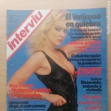 Coleccionismo de Revista Interviú: INTERVIU N.º 322 1982 RAY CHARLES, MARY CROSBY, TERESA GIMENEZ. NURIA ESPERT, VATICANO. Lote 287832223
