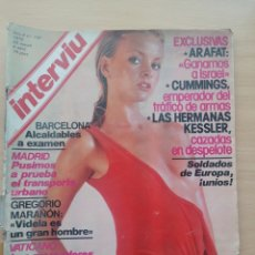 Coleccionismo de Revista Interviú: INTERVIÚ 150 1979 YASSER ARAFAT, MARITZA OLIVARES, SAMUEL CUMMINGS, KESSLER, GREGORIO MARAÑÓN. Lote 287848438